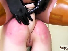 Extreme sloppy spit and fetish toy bdsm first time This