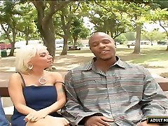 Cuckold black BF watches the way sxxx bf hd rico cafecito breasted Lisa Lennox gets nailed