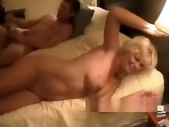 Cuckolding Wife Fucked in Her Marriage Bed