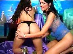Lesbian Hot and Long Dildo Work