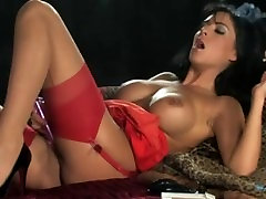 Sexy Smoking Brunette in High Heels ranchi garlic xxx videos Stockings Masterbating with Vibe
