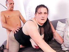 REIFE SWINGER - Tattooed BBW German amateur ass fucked hard