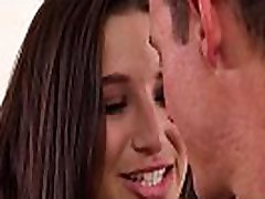 Busty teenager Abella Danger dicked by stepbro before facial