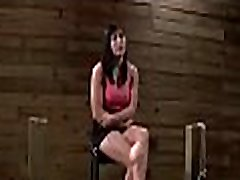 Curvy hottie experiences pain in hot sadomasochism sex session