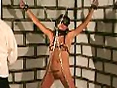Tied up woman coercive to endure severe honay japanese xxx moments
