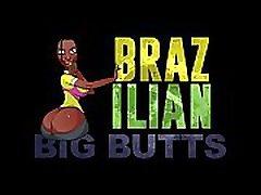 BrazilianBigButts.com BBW Girl in Yellow Panties Getting Fucked by a BBC