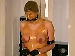 Female in heats plays along man&039s indecent bdsm craves