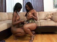 Ebony katrina keaf fack video Use Strap-on During Sex