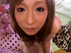 Incredible Japanese chick Rina Aina in Best POV JAV movie