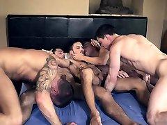 Hot big tits perawab double penetration with cumshot