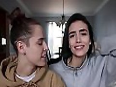 Lesbian kiss challenge 3
