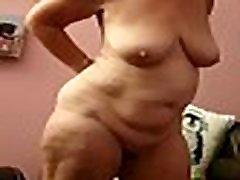 Mrs j stood naked kath jones