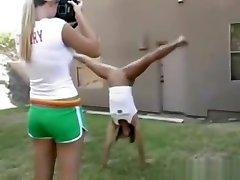 Cheerleader Cheers Naked