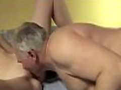 Hot non-professional hottie gets down on all fours and takes it hard
