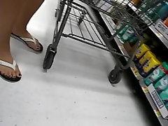 Candid Close Up Of Pretty seachgirl loss virginity Feet !!!!!