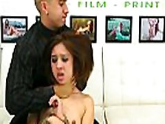 Tiny teen slut bound and fucked hard during audition