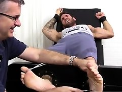 Male masturbation by boy feet and men with big hairy gay