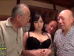 Wife Gangbanged and Creampied by Older Men