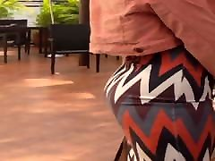 Sexy candid ass in tight skirt walking in xnxx cothai chaumy heels
