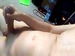 Boy cock hand job