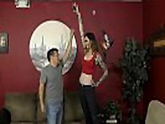 6 Foot 3 Rocky Emerson Dominates Her Short Roomate - Femdom &amp Ass Worship