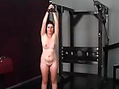 Naughty non-professional video with forced fuck no mercy enduring wet crack stimulation