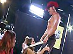 Beauties must suck hunks&039 peckers covered with cream