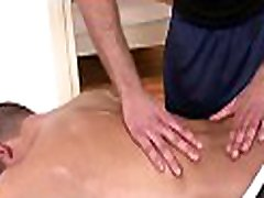 Steamy mom japan with boys massage session for concupiscent gay fellow