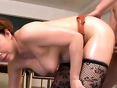 Pretty babe gives wet dick engulfing and ass licking