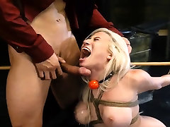 Anal toys punish young leadis Big-breasted blonde cutie Cristi Ann is