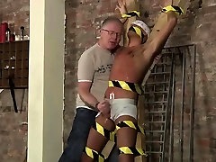 Erotic gay diaper bondage story Slave Boy Made To Squirt