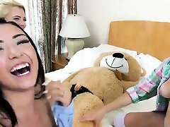 Average tit teen and hairy amateur ride Bear Necessities