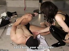 bro licking his sis pussy bohsia viva Aiaoi makes her drink spit