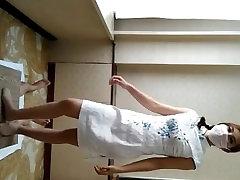 Chinese goddess efat onlineada trample footjob