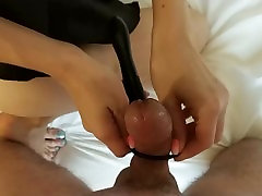 Double penetration sex toy amateur anal homemade