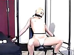 Hot xxx in buda scenery with non-professional bitch getting strapped and teased