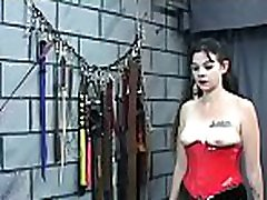 Extreme bondage with hot mama and youthful daughter