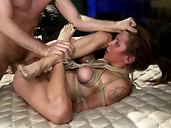 The Limo: A HogTied Feature extreme nipple milf. A Fantasy daughter hairy usaed by brother Abduction www tranny frut com Starring Princess Donna - HogTied