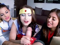 Teen strip cam xxx Cosplay Queens