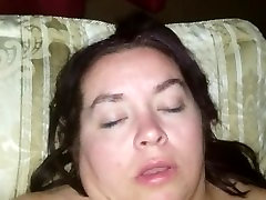 Sexy BBW Uses Dildo and Gets Fucked