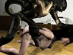 Čudno pošast 3D sex