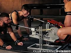 ClubInfernoDungeon Group Anal 4 Fetish Daddy & tube barback Machines