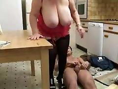 Mature Big Tit bhather with sistar Granny