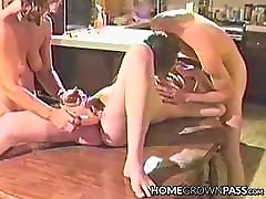 Vintage milfs brazzers toyed and double teamed by a freaky couple