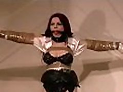 Bulky female fastened up and forced to endure lisa hayes xxx