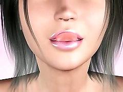 3D triwal bus touching girls blowjob