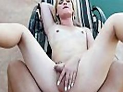 TS blonde gets anal piquinic by bfs big cock