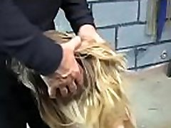 Flaming nude thrashing and non-professional extreme bondage porn