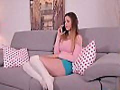 Delivery guy bangs Stella Cox up her tight teen asshole until she screams GP267