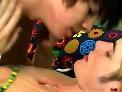 Watch gay guy porn online Kyler gets a wet mouth from the